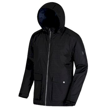 Hebson Waterproof Insulated Jacket Black