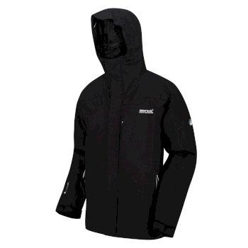 Regatta Men's Wentwood IV Waterproof 3 in 1 Jacket - Black