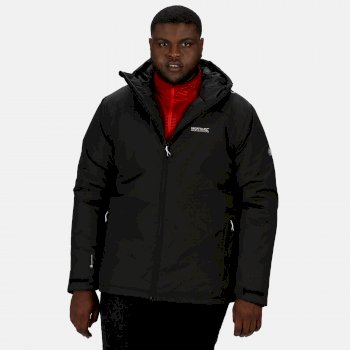 Thornridge II - Herren Kapuzenjacke - wasserdicht Black