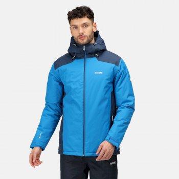 Regatta Men's Thornridge II Waterproof Insulated Walking Jacket - Imperial Blue Nightfall Navy
