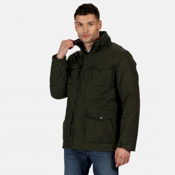 Regatta Men's Eneko Waterproof Insulated Jacket - Dark Khaki