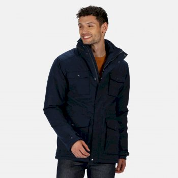 Regatta Men's Eneko Waterproof Insulated Jacket - Navy