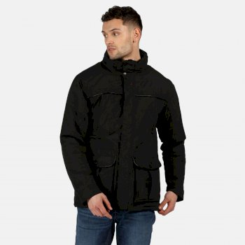 Regatta Men's Rawson Waterproof Insulated Jacket - Black