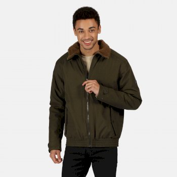 Regatta Men's Rayan Waterproof Insulated Jacket - Dark Khaki