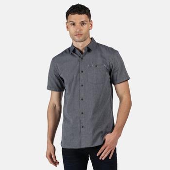 Damari Kurzarmhemd für Herren Blau