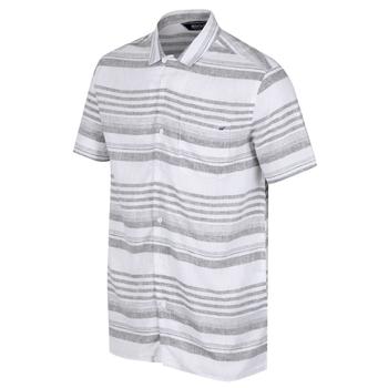 Mahlon Coolweave-Hemd mit langen Ärmeln für Herren Grün