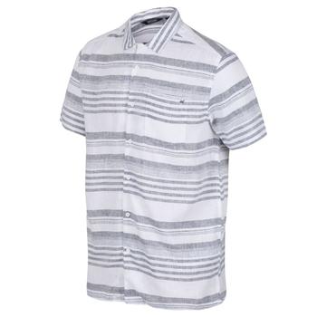 Mahlon Coolweave-Hemd mit langen Ärmeln für Herren Blau