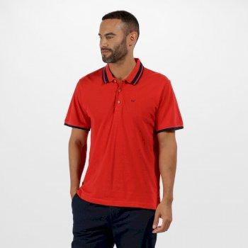 Regatta Talcott Coolweave Cotton Polo Shirt Pepper