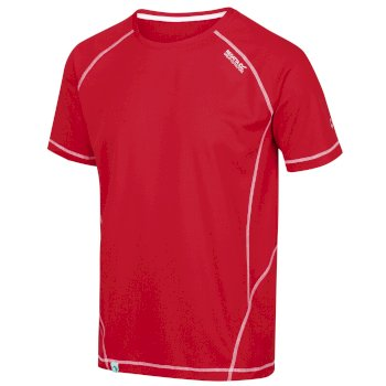 Regatta Men's Virda II Active T-Shirt - Chinese Red