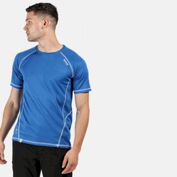 Virda II leichtes T-Shirt für Herren Blau