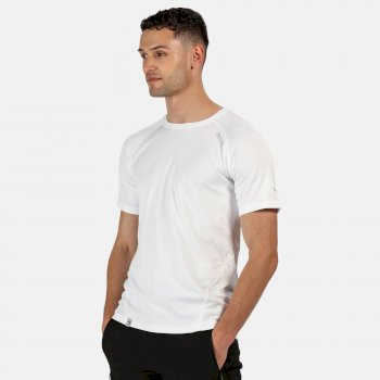 Regatta Men's Virda II Active T-Shirt - White