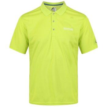 Men's Maverik IV Quick Dry Pique Polo Shirt Lime Punch
