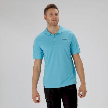 Regatta Maverik IV Polyester Polo Shirt Atoll Blue
