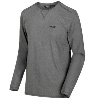 Men's Karter Coolweave Long Sleeved T-Shirt Briar Grey