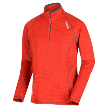 Yonder - Herren Fleece-Oberteil  Orange