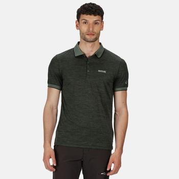 Remex II Herren-Poloshirt Grün