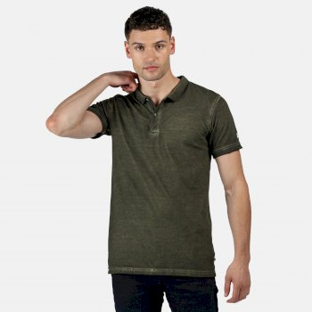Regatta Men's Taiden Polo Shirt - Camo Green