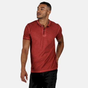 Regatta Men's Taiden Polo Shirt - Rust