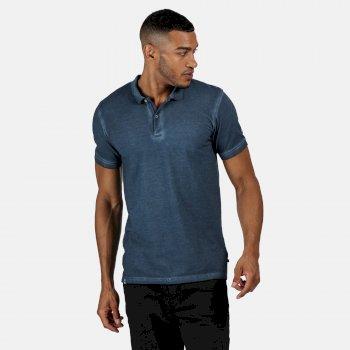 Taiden Polo-Shirt für Herren Blau