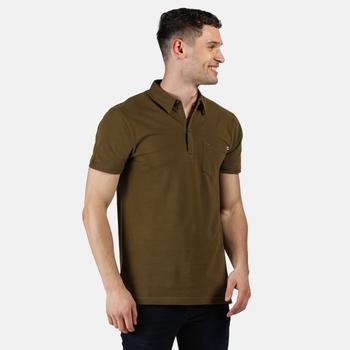 Barley Polo-Shirt für Herren Grün