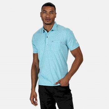 Mando Polo-Shirt für Herren Blau