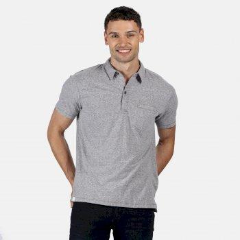 Mando Polo-Shirt für Herren Grau
