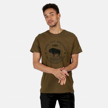 Cline IV Graphic T-Shirt für Herren Grün