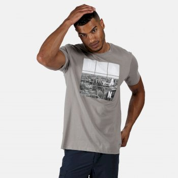 Cline IV Graphic T-Shirt für Herren Grau