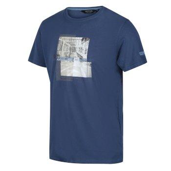 Cline IV Graphic T-Shirt für Herren Blau