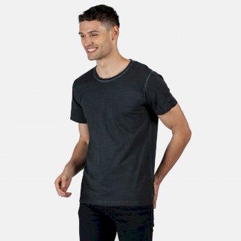 Calmon T-Shirt für Herren Schwarz