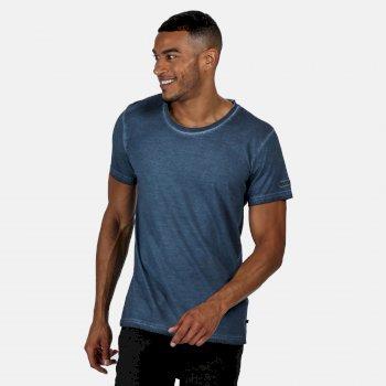 Calmon T-Shirt für Herren Blau