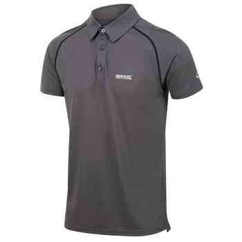 Kalter Polo-Shirt für Herren Grau