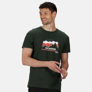 Breezed Graphic T-Shirt für Herren Grün