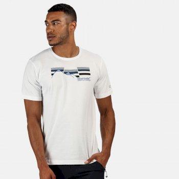 Regatta Men's Breezed Graphic T-Shirt - White