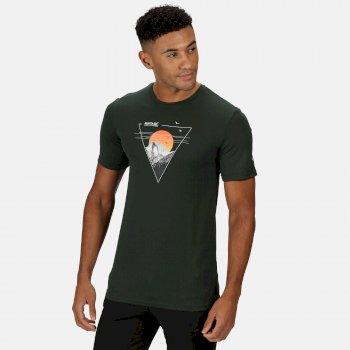 Fingal V Graphic Active T-Shirt für Herren Grün