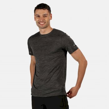 Fingal V Graphic Active T-Shirt für Herren Grau