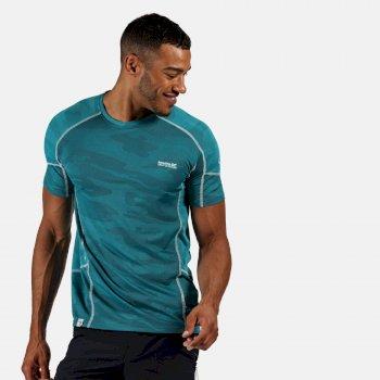 Camito Active T-Shirt für Herren Blau