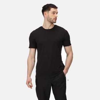 Tait Active leichtes T-Shirt für Herren Schwarz