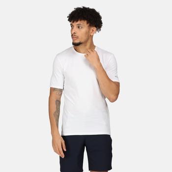Tait Active leichtes T-Shirt für Herren Weiß