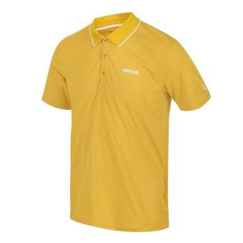 Maverick V Active Polo-Shirt für Herren Gelb