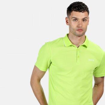 Maverick V Active Polo-Shirt für Herren Grün