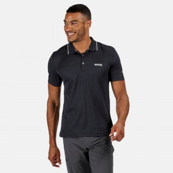 Maverick V Active Polo-Shirt für Herren Blau