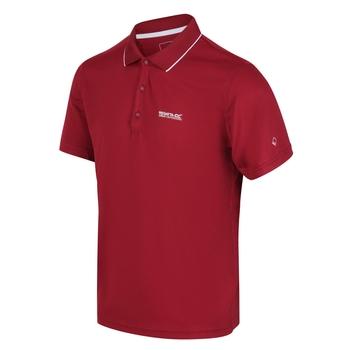 Maverick V Active Polo-Shirt für Herren Rot