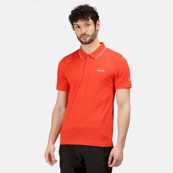 Maverick V Active Polo-Shirt für Herren Orange