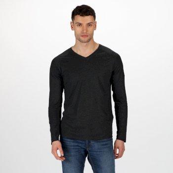 Kiro II leichtes Sweatshirt aus Coolweave Schwarz