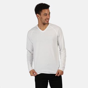 Kiro II leichtes Sweatshirt aus Coolweave Weiß