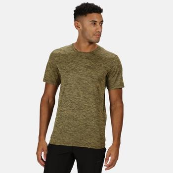 Fingal Edition Marl T-Shirt für Herren Gelb