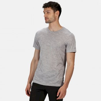 Regatta Men's Fingal Edition Marl T-Shirt - Rock Grey