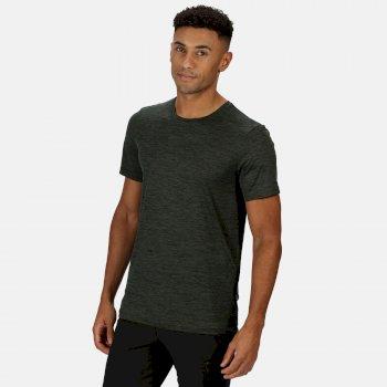 Fingal Edition Marl T-Shirt für Herren Grün