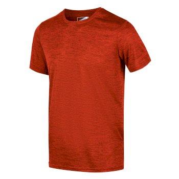 Fingal Edition Marl T-Shirt für Herren Orange